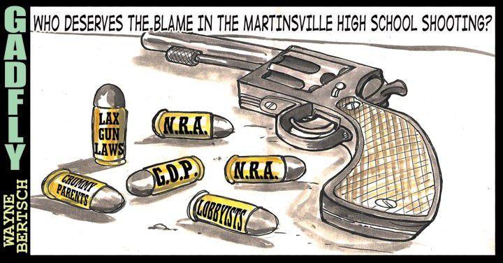Gadfly: 'Bullet Blame'
