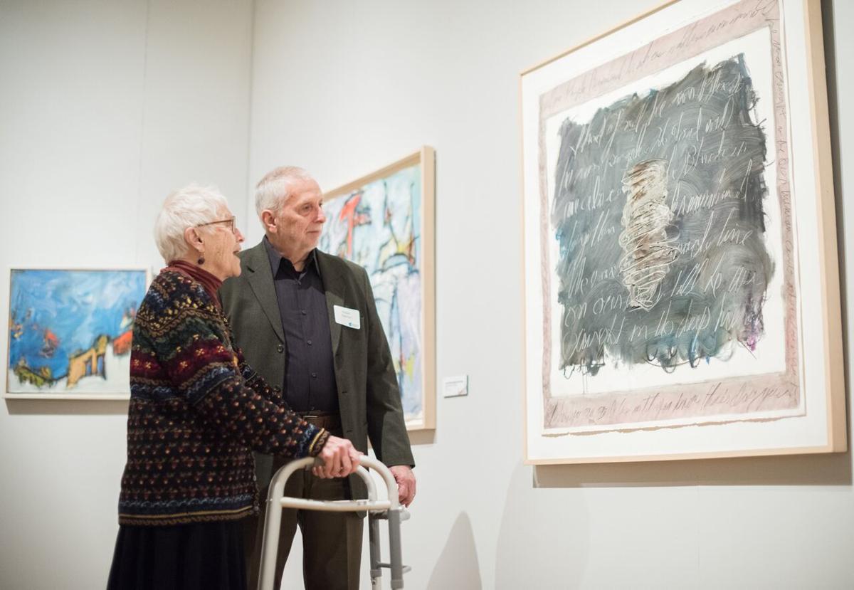 Lois Main Templeton with Robert Eagerton