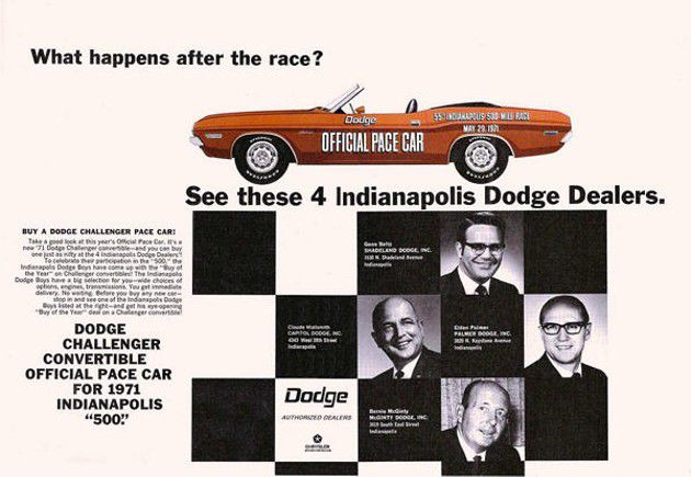 71 days until the 100th running of the Indianapolis 500