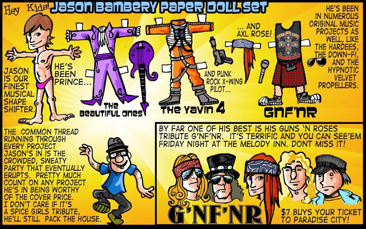 Barfly: Jason Bambery's many forms