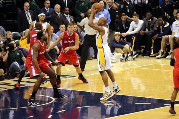 Pacers V. Clippers