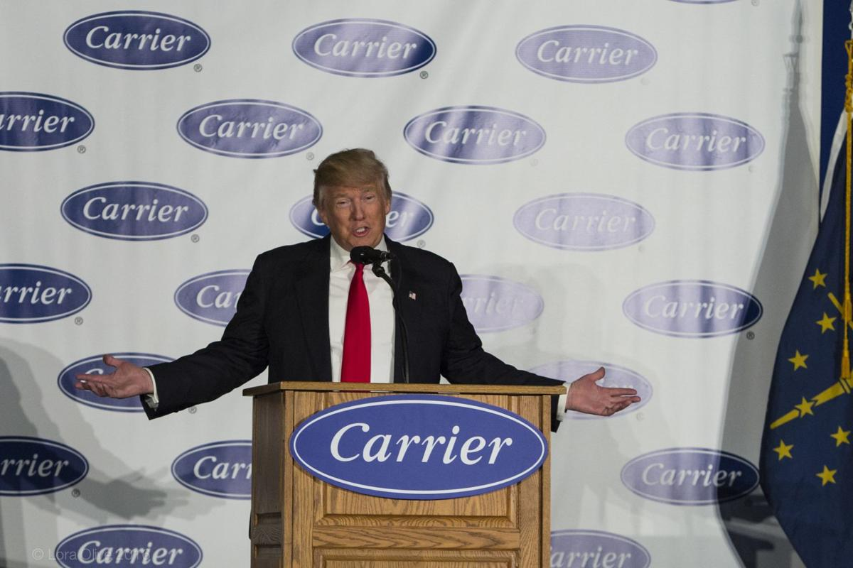 Carrier stays, Trump delivers