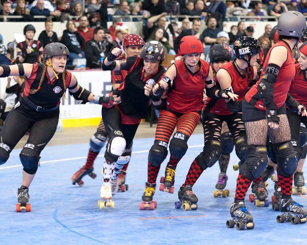 Slideshow: Naptown Roller Girls, Bout Two