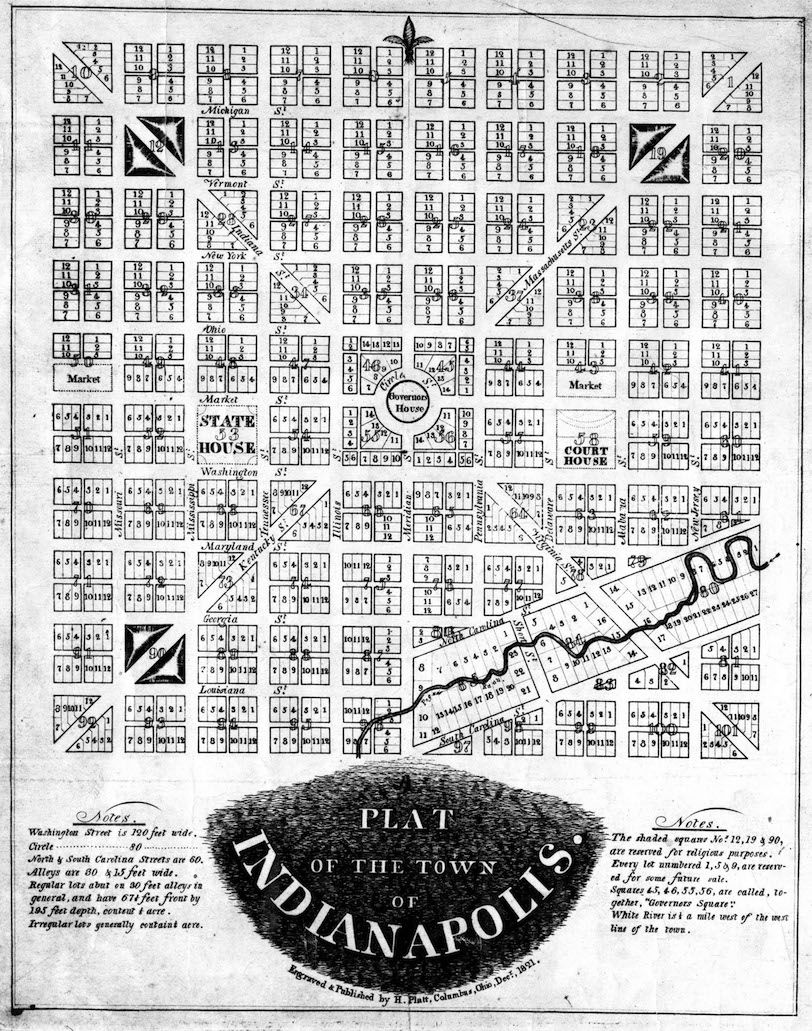 Mile Square Map