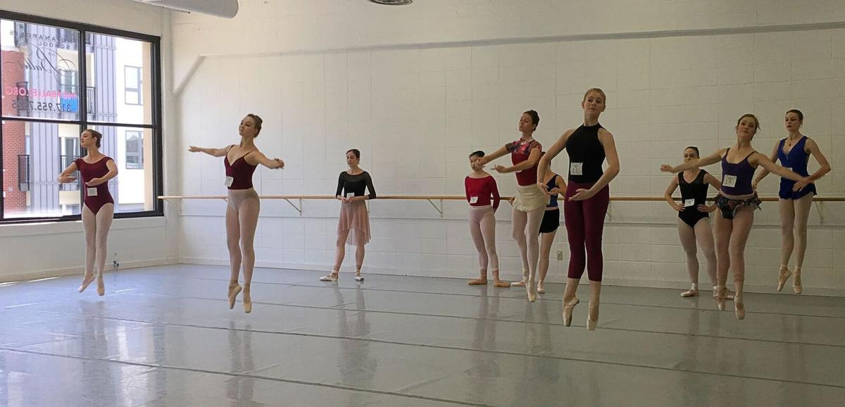 Professional company auditions for Indianapolis Ballet, Inc.