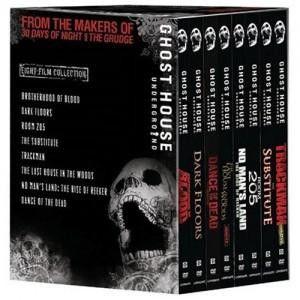 Box set of horror films
