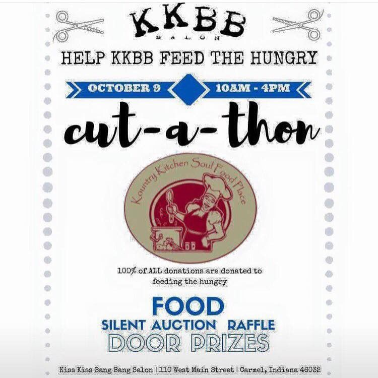 Eat and get your hair cut to help Kountry Kitchen feed the homeless this Christmas