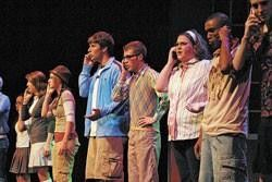 Singing, dancing stars of 'High School Musical'