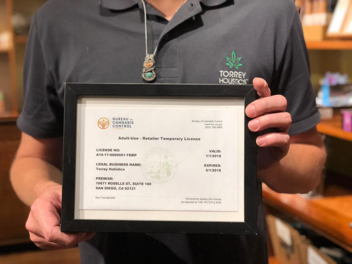 Torrey Holistics' license