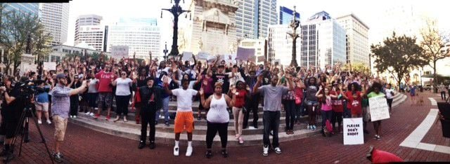 National Moment of Silence observed in Indianapolis