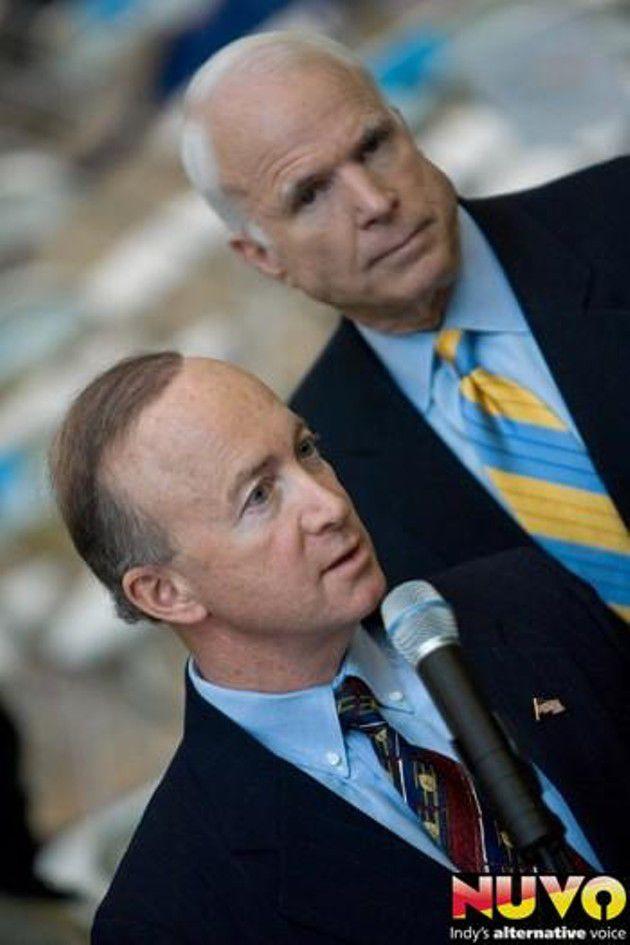 McCain visits Indianapolis