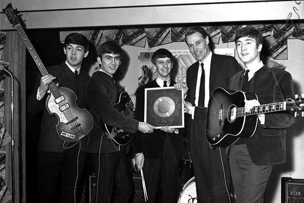 The fifth Beatle: George Martin's gift
