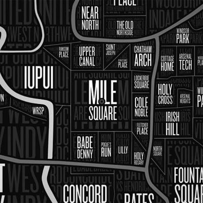 Naplab gives Indy neighborhoods a map | Arts | nuvo.net on abbey map, dragon map, mac map, india map, dixie map, lincoln map, icon map, indianapolis map, sebring map, leon map, war map, parker map, iris map, dover map, dayton map, ruby map, international map, ice map, ford map, indiana map,