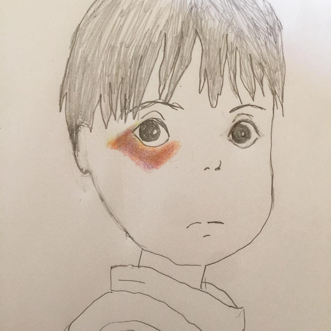 Black Eye drawing