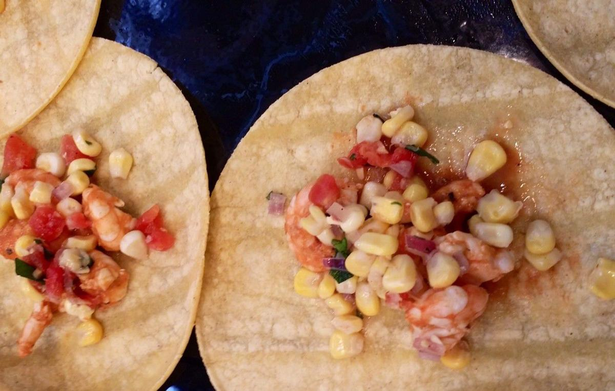 Cook it tonight: Jolene's Bloody Good Shrimp Tacos, Sweet Corn Salsa and Fish Tacos with Chipotle Slaw