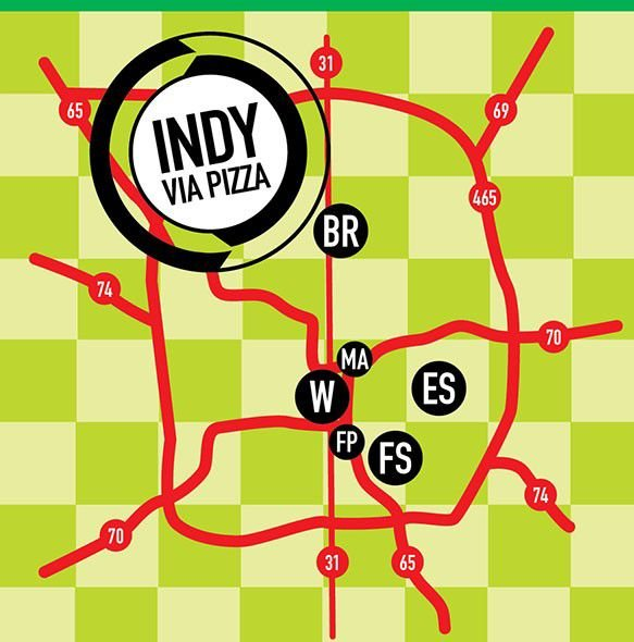 Indy by way of bike (and pizza)