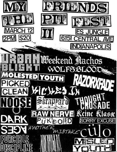 My Friends The Pit Fest II