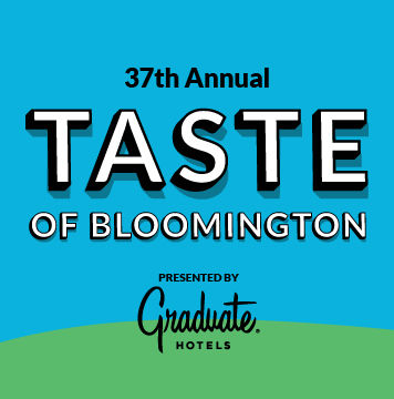 Taste of Bloomington Logo
