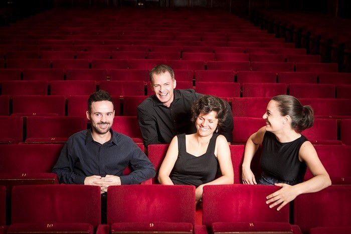 Elias String Quartet performs for Ensemble Music