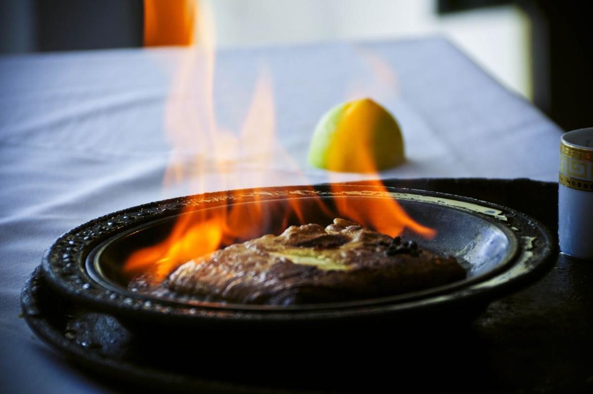 Flambé away: Flaming foods of Indy