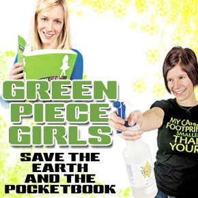 Green piece girls save the planet