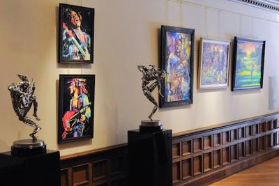 Gallery Forty-Two opens in 1850s-era building