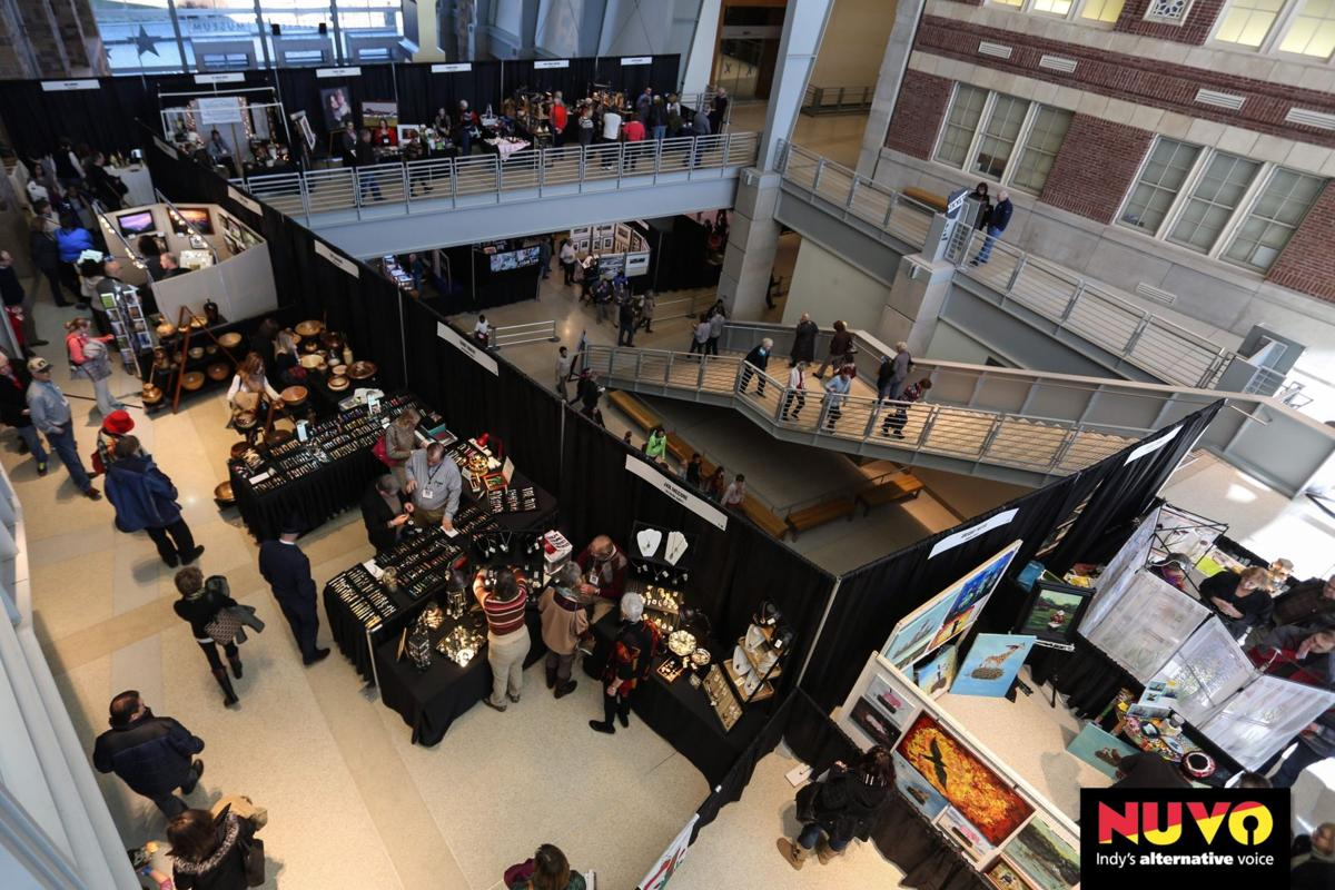Slideshow: The 13th Annual Indiana Art Fair at the Indiana State Museum