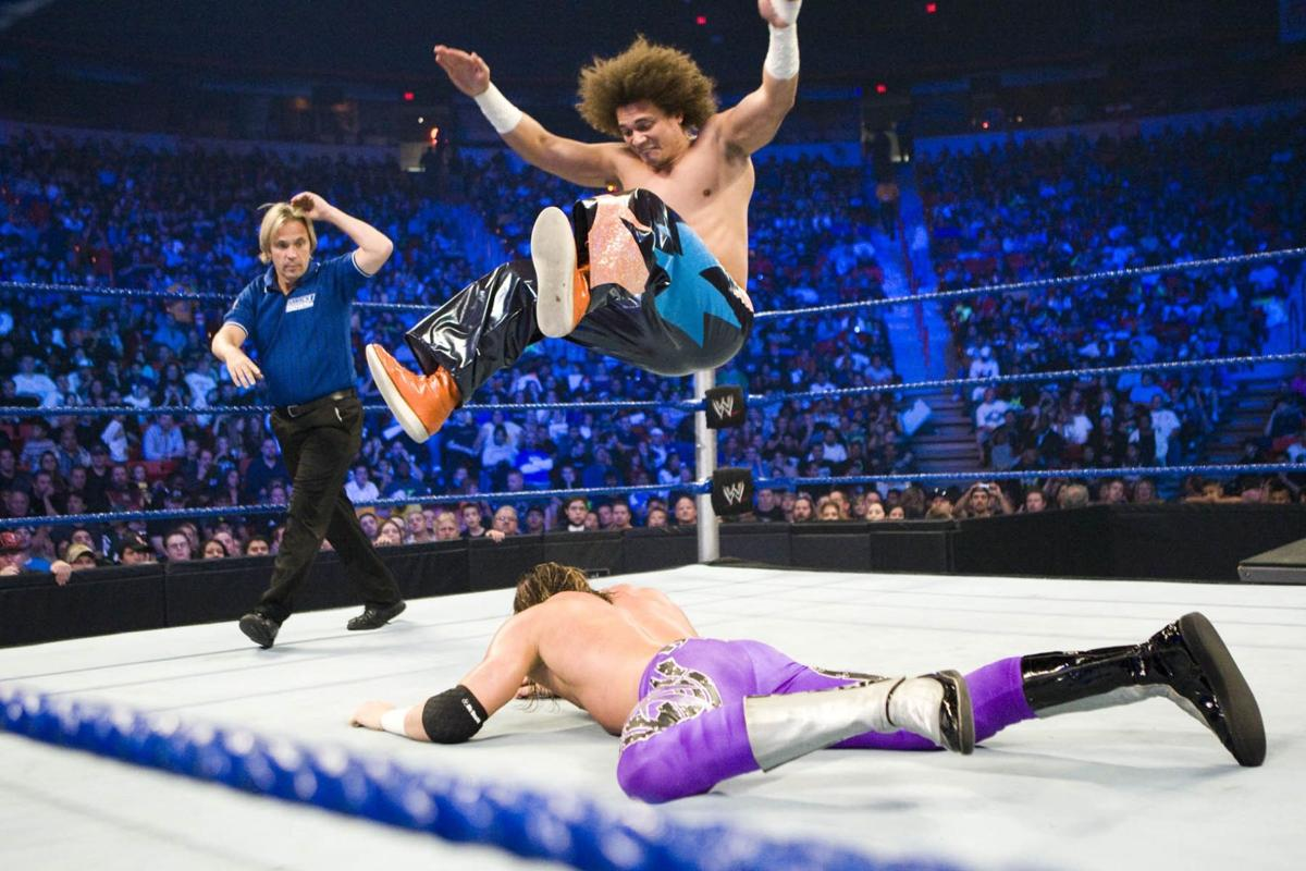 WWE Smackdown, chatting with Carlito Caribbean Cool