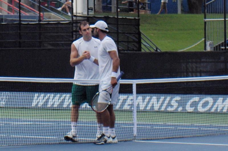 Ginepri takes on two opponents