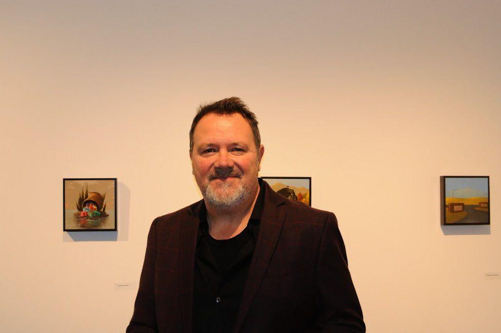 Steve Paddack at Edington Gallery