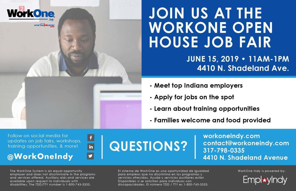 WorkOne Indy Open House Job Fair