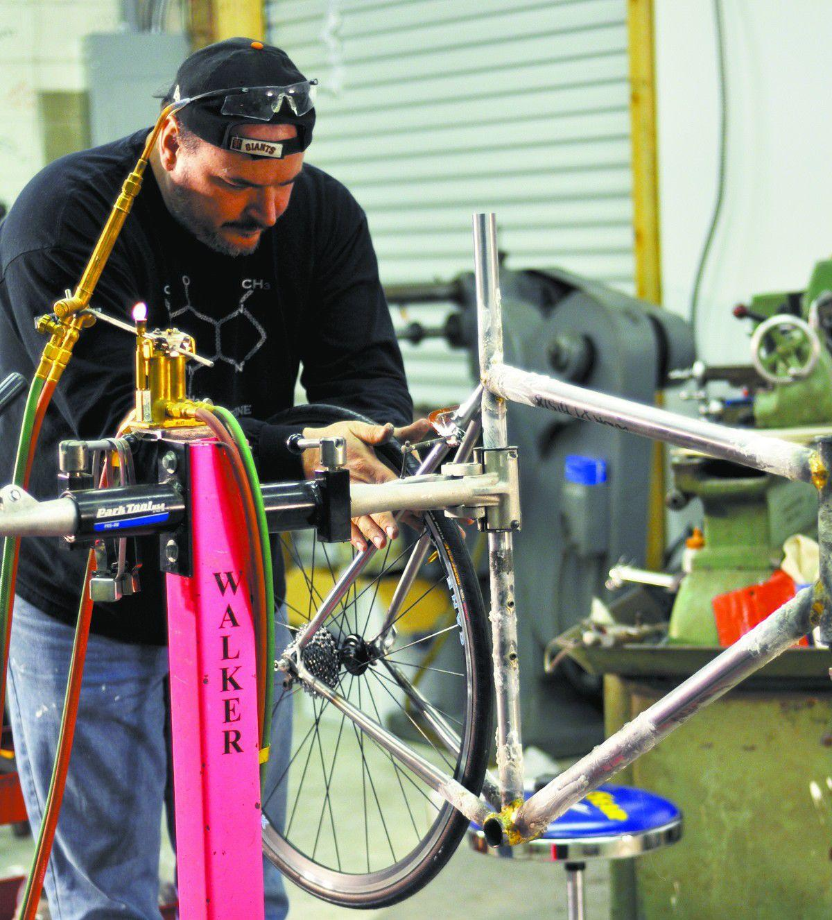 Bike warrior: a custom builder at NAHBS