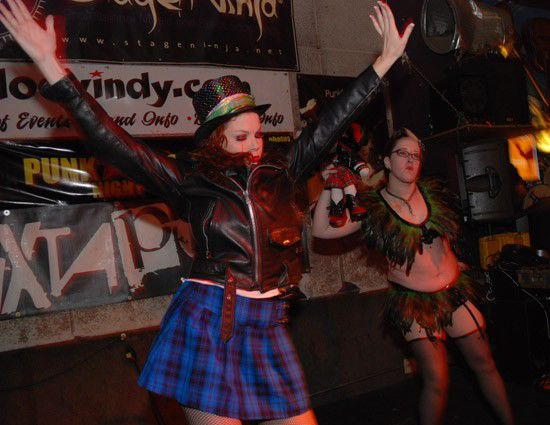 Review: Bottoms Up Burlesque at Punk Rock Night