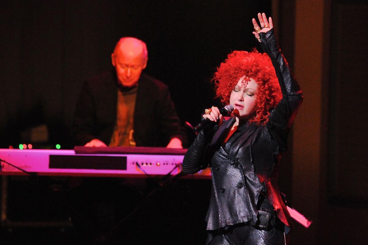 Cyndi Lauper and Dr. John at The Palladium