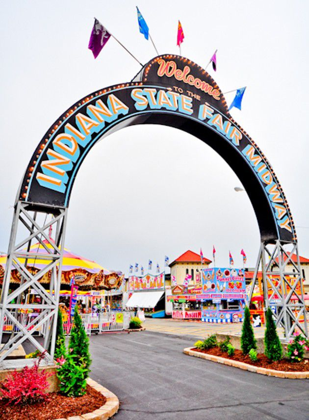 Slideshow: Opening weekend at the Indiana State Fair !