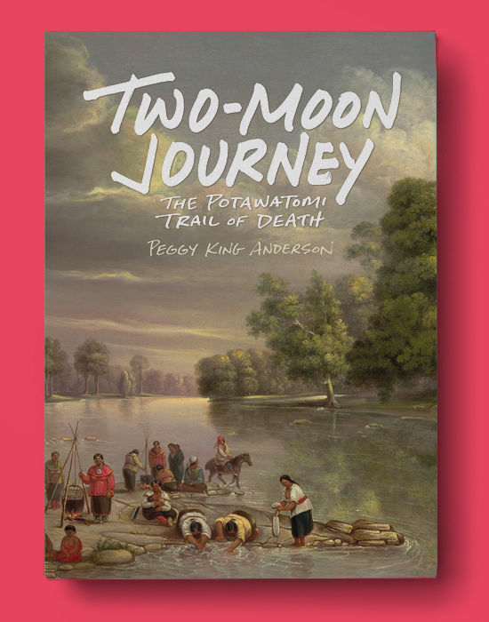 Two-Moon Journey by Peggy King Anderson