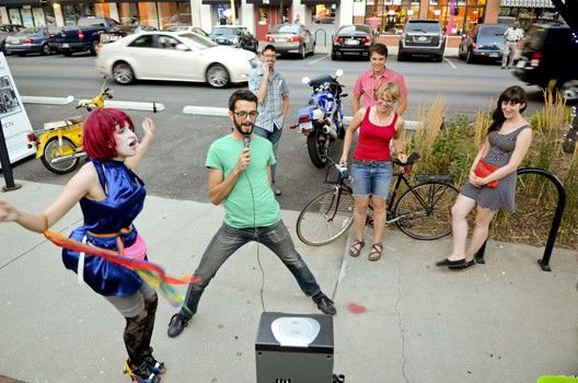 Slideshow: August First Friday at the Murphy and Mass Ave.