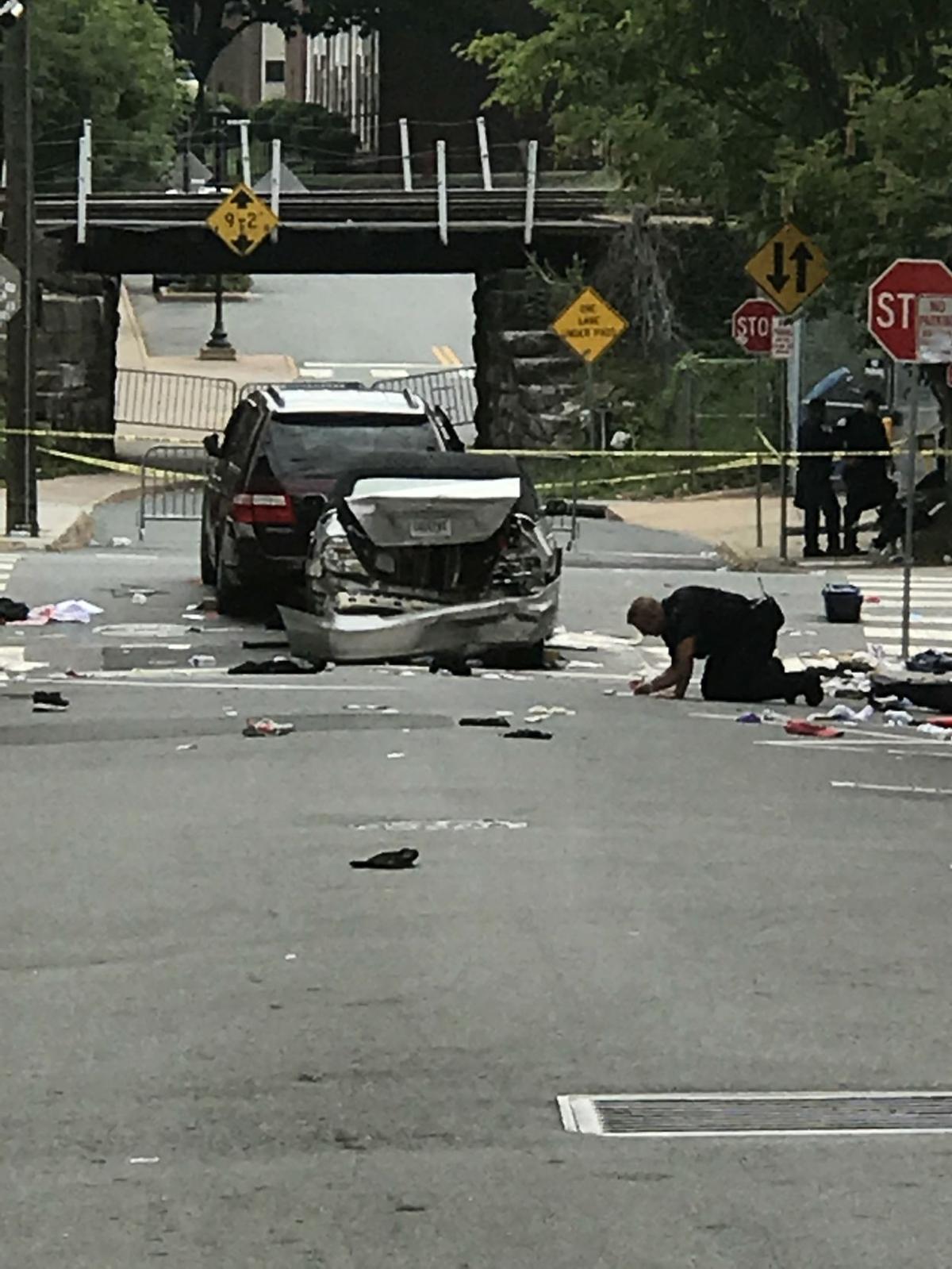 cville cop investiagting crash.JPG