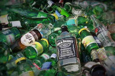 alcohol garbage recycle