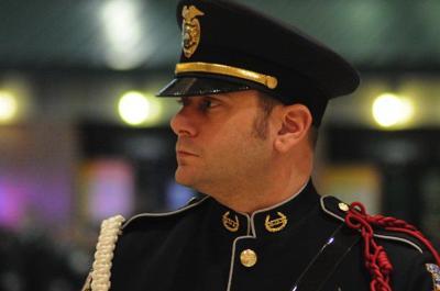 Honoring IMPD Officer Moore (Slideshow)