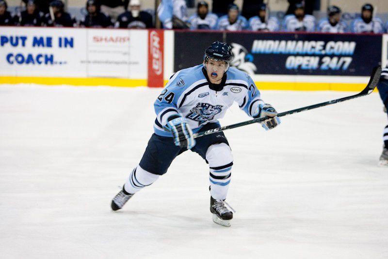 Indiana Ice's Sebastian Geoffrion