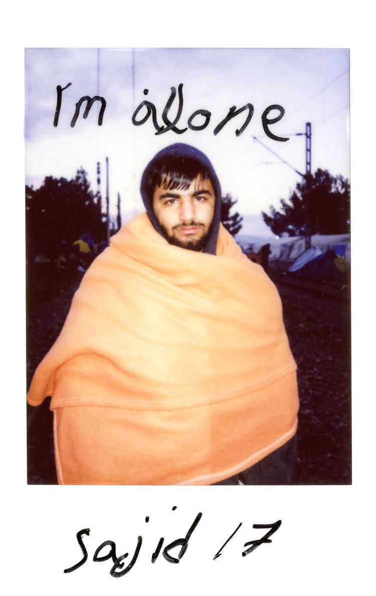Take Me to Jermany Polaroid