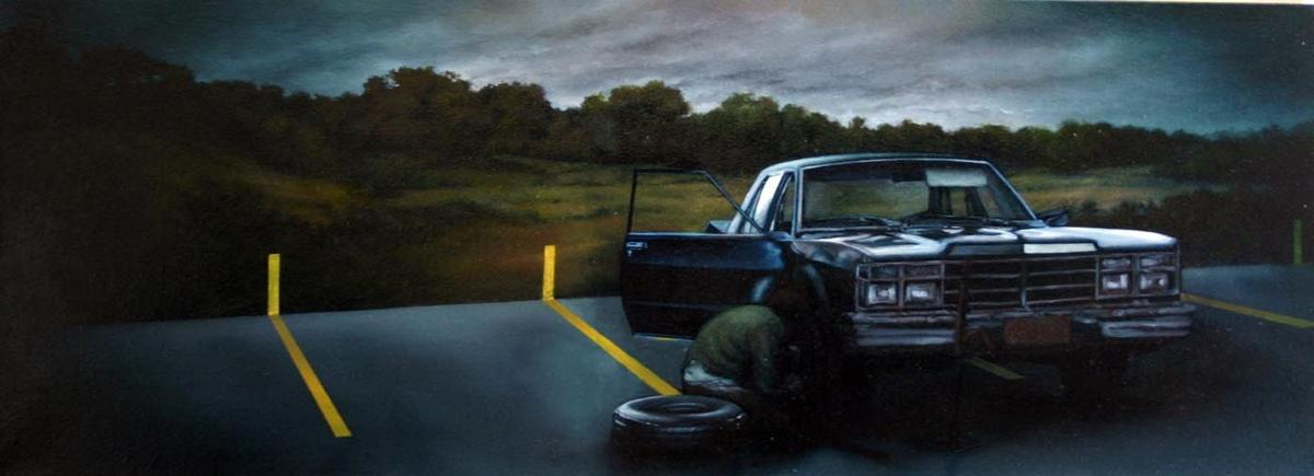 Paintings by Edgar Cano