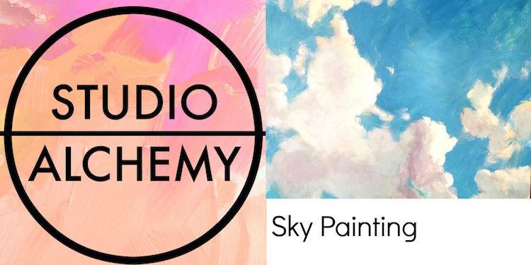StudioAlchemySkyPaintingClass