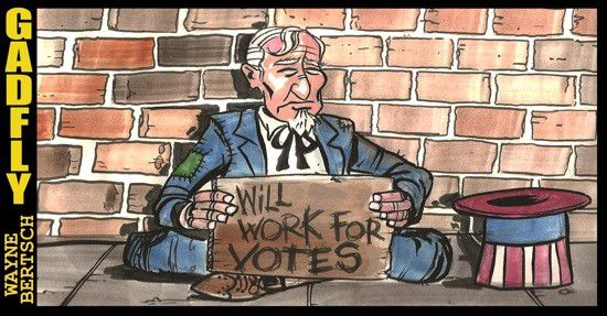 Gadfly: Will Work for Votes