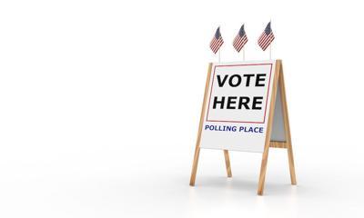 Voting place polls