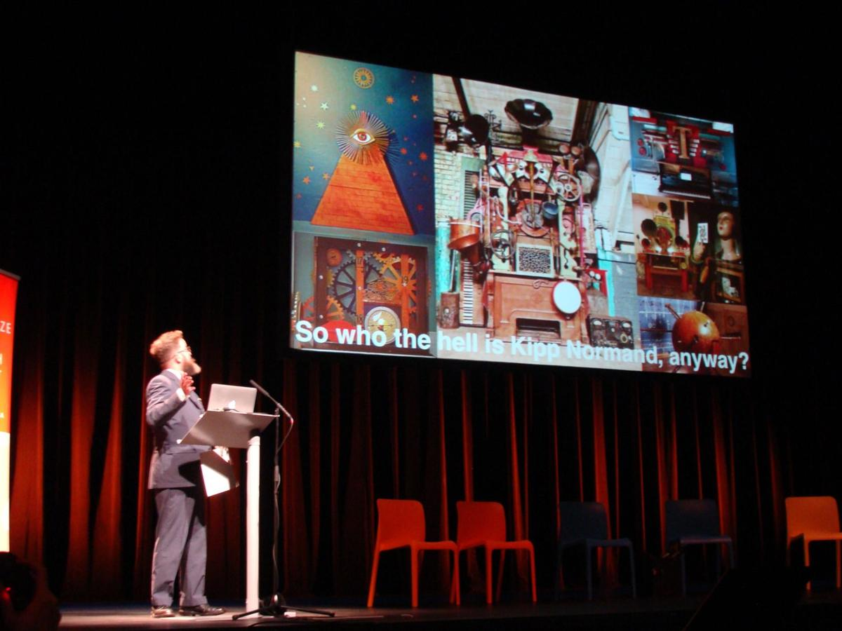 Kipp normand wins ArtPrize Pitch Night   Visual   nuvo net
