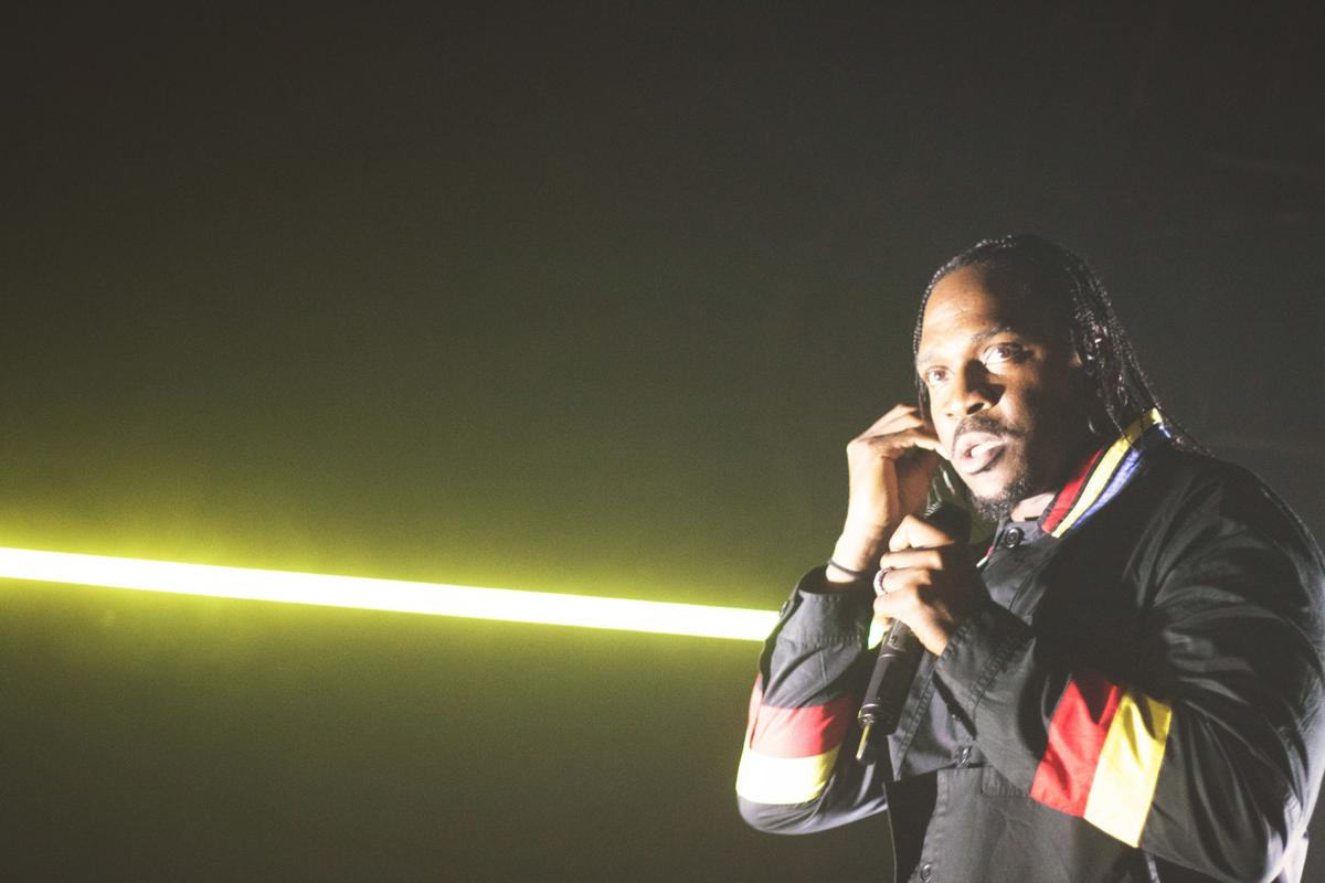 Pusha T at the Vogue