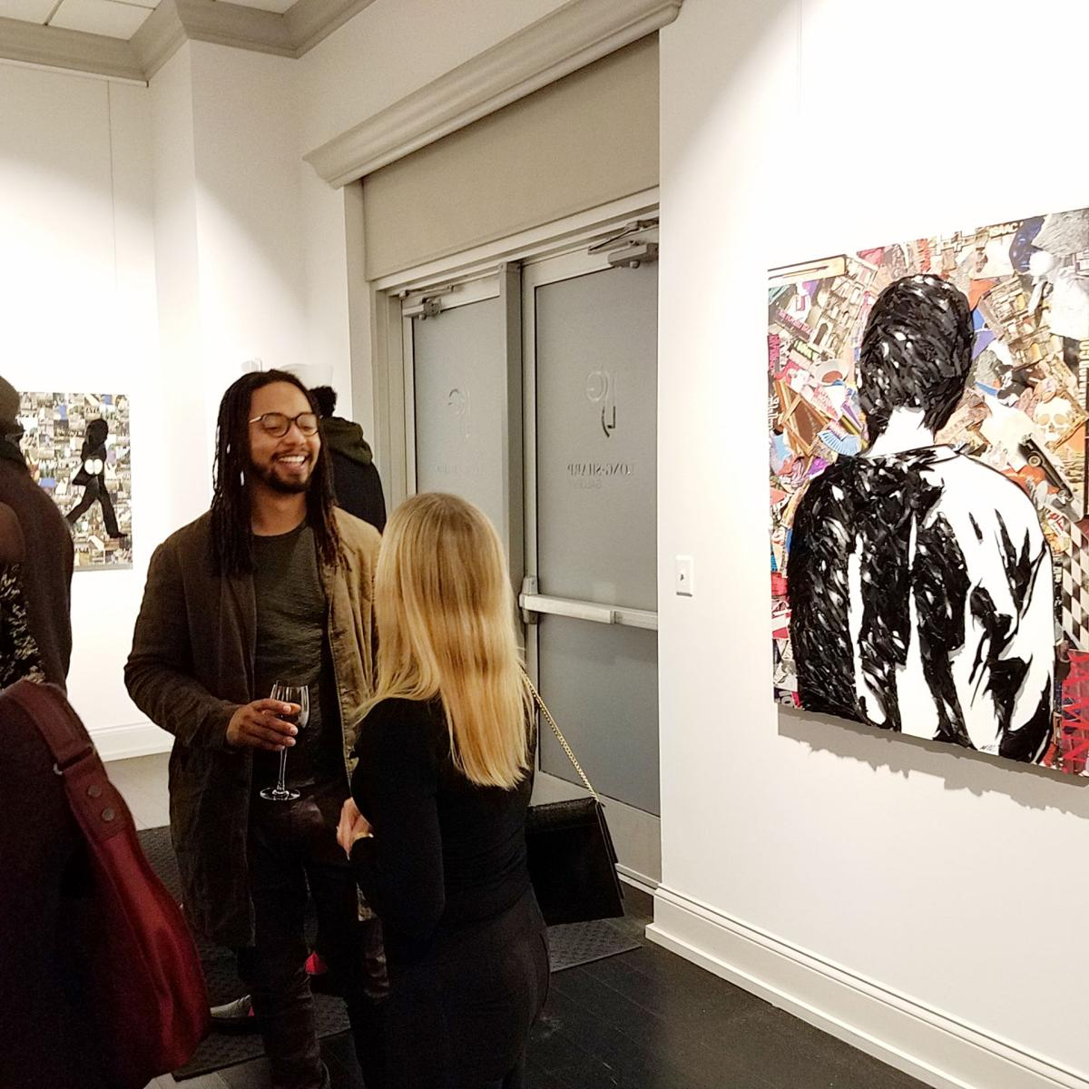 Walter Lobyn Hamilton at Long-Sharp Gallery on March 2