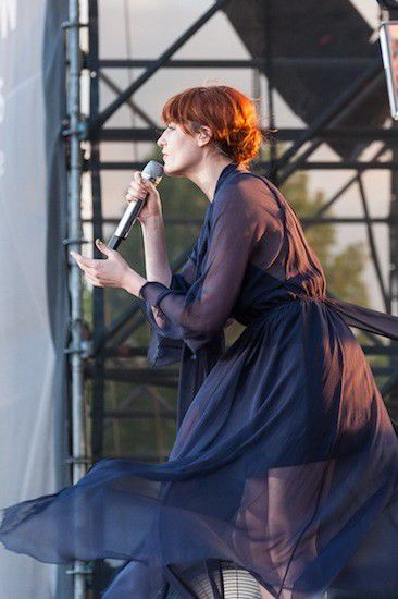 Review: Florence + The Machine at the Lawn at White River